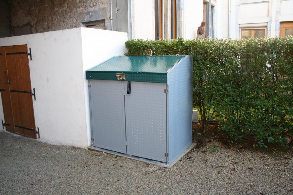 abri poubelle exterieur cool poubelle exterieur castorama fresh abri poubelle extrieur top abri. Black Bedroom Furniture Sets. Home Design Ideas