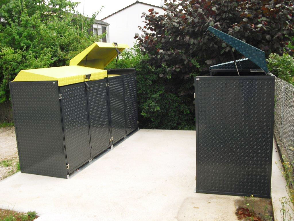 abri containers poubelles bande transporteuse caoutchouc. Black Bedroom Furniture Sets. Home Design Ideas