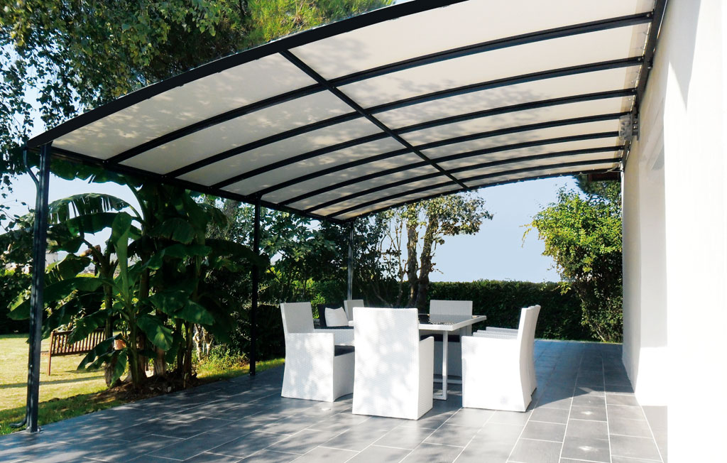 polycarbonate pergola alu penmie bee. Black Bedroom Furniture Sets. Home Design Ideas