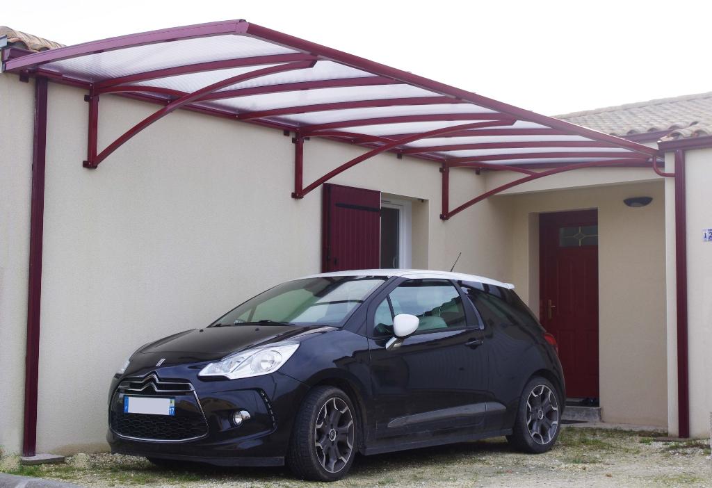 Crealu design pergolas et abris cr ations sur mesure - Abri voiture aluminium ...